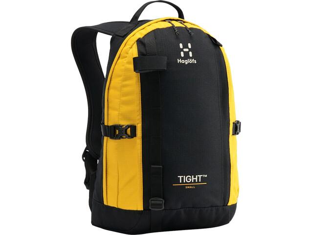 Haglöfs Tight Small Backpack, negro/amarillo
